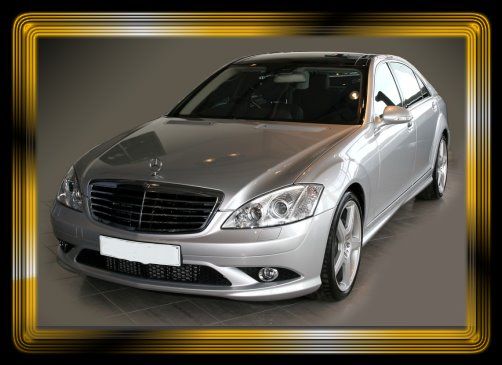 A few of our cars are fitted with a body kit. Most S Class vehicles are available in silver or black.