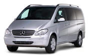 Chauffeur driven Mercedes Viano people carrier - Up to 7 passengers in comfort, from Cars for Stars (Preston)
